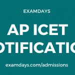 ap icet 2020 notification