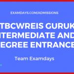 MJPTBCWREIS Gurukul Intermediate and Degree Entrance