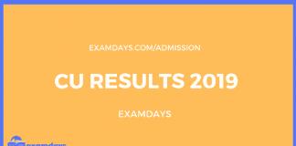 cu result 2019