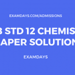 gseb 12 chemistry paper solution