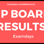 mp board results