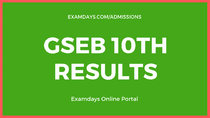 gseb 10th result