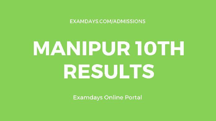 manipur 10th result