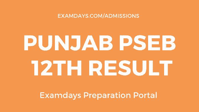 pseb 12th result 2019 in punjab