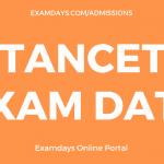 tancet exam date