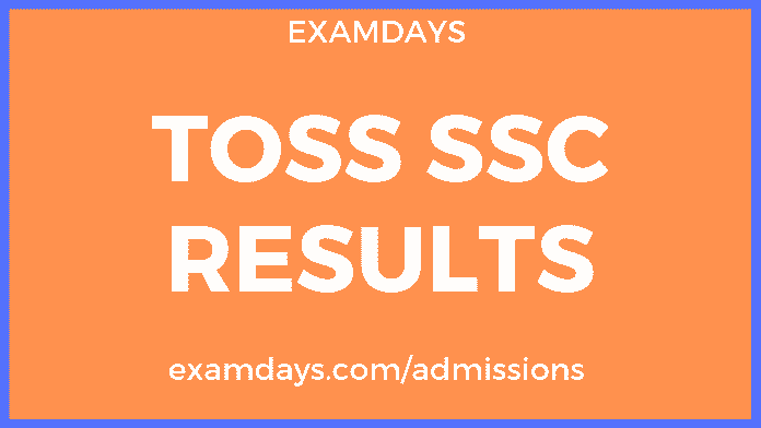 TOSS SSC Result 2019 | 10th Results Download