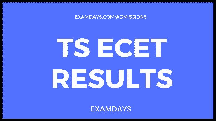 ts ecet results