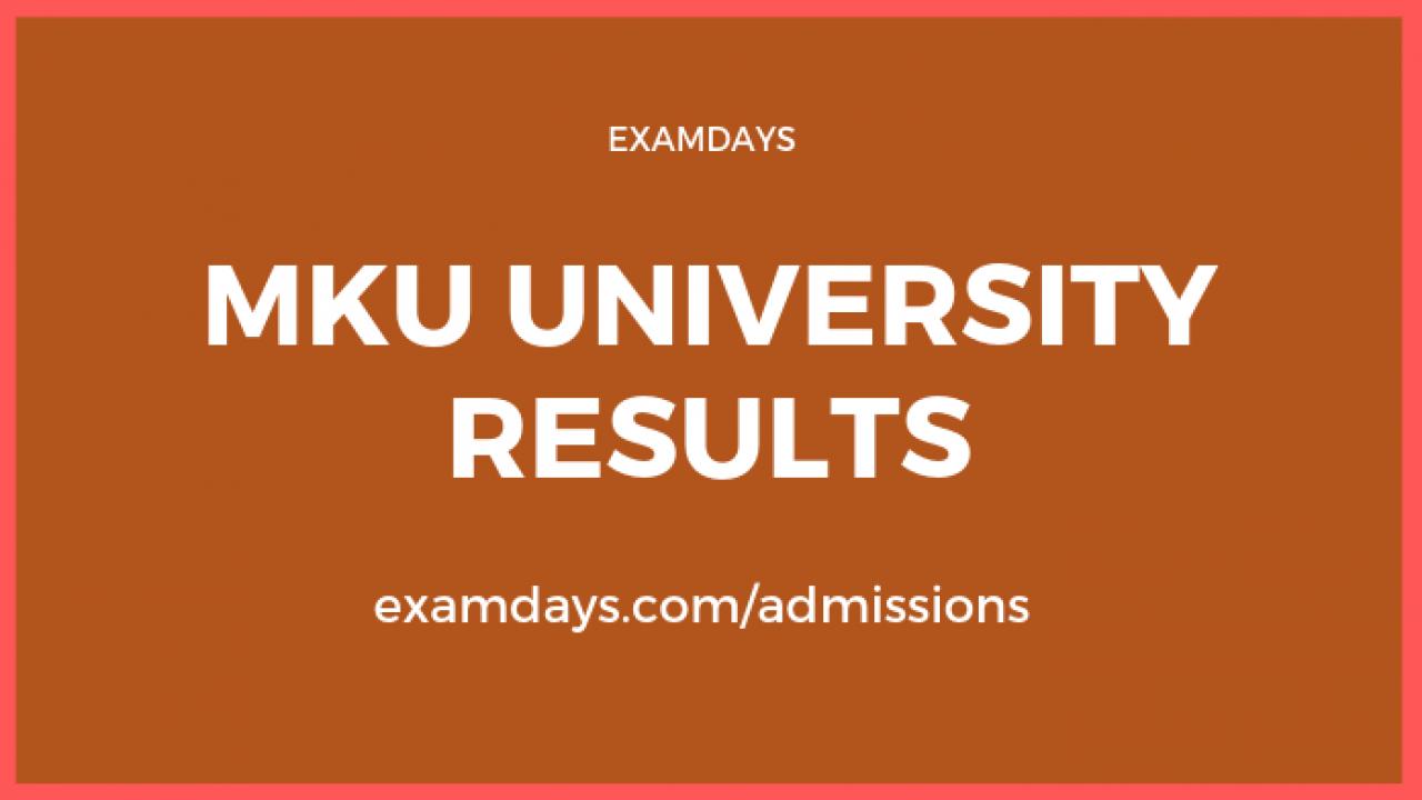 Mk university result 2020