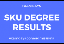 sku degree results