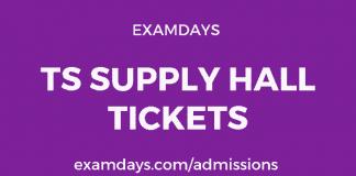 ts supply hall tickets