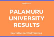 palamuru university degree results
