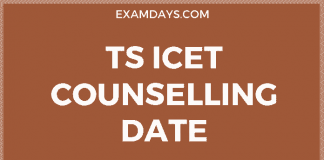 ts icet counselling date