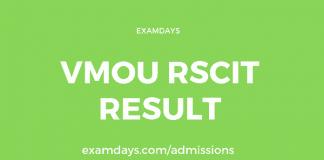 vmou rscit result