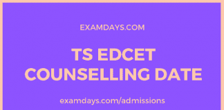 ts edcet counselling date