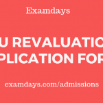 vtu revaluation application form