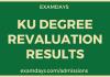 ku revaluation results