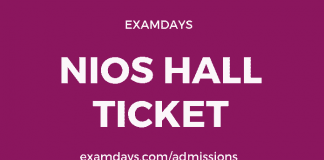 nios hall ticket