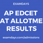 ap edcet seat allotment