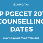 ap pgecet 2019 counselling dates