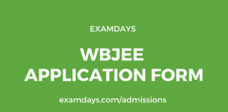 wbjee application form