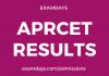 aprcet result