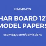 bihar board 12th previous year question paper pdf