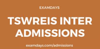 tstwreis inter admissions