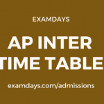 ap inter time table