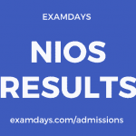 nios result