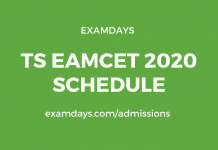 ts eamcet 2020 schedule