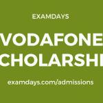 vodafone scholarship