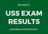uss exam result