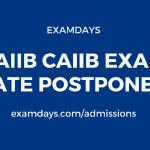 jaiib exam postponed