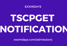 ts cpget 2020 notification