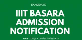 iiit basar admission notification