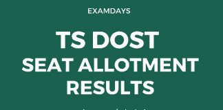ts dost seat allotment results
