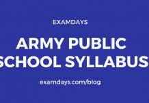 army public school syllabus