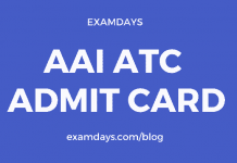 aai atc admit card download