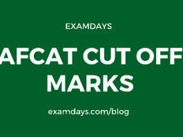 afcat cutoff marks