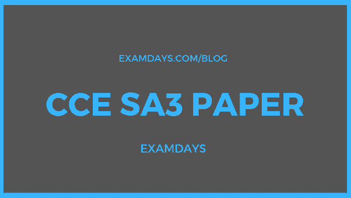cce sa3 paper