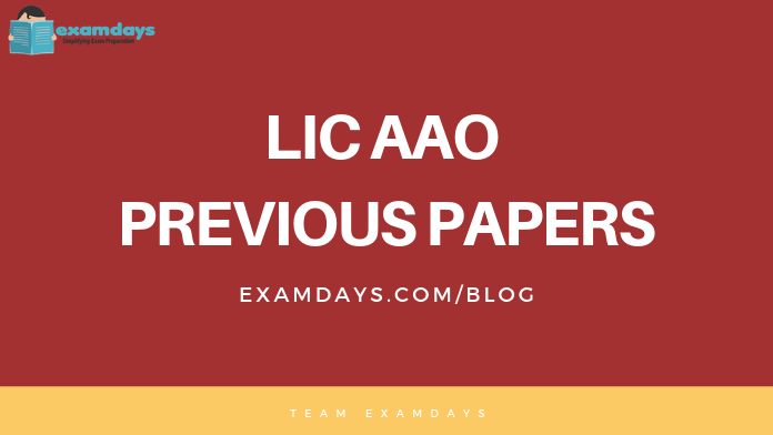 Lic Aao Previous Question Paper Pdf