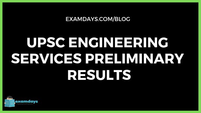 upsc es results