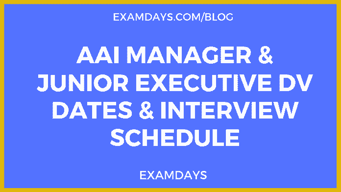 aai interview dates