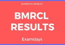 bmrcl results