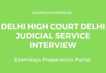 Delhi High Court Delhi Judicial Service Interview