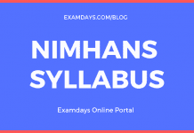 NIMHANS Syllabus