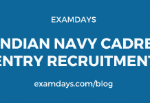 Indian Navy Cadre Entry