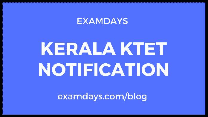 KTET Notification June 2019 Released Apply Online ktet