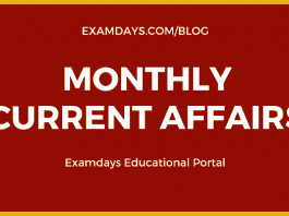 monthly current affairs