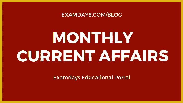 Monthly Current Affairs 2019 pdf Download - examdays
